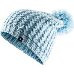 Czapka damska CAD610 - jasny niebieski - Outhorn. Niebieskie czapki i kapelusze damskie Outhorn, ze splotem. Za 34.99 zł.