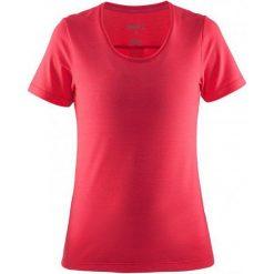 Craft Koszulka Habit Pink S. Różowe koszulki sportowe damskie Craft, z materiału. W wyprzedaży za 109.00 zł.