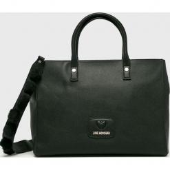 Love Moschino - Torebka. Czarne torby na ramię damskie Love Moschino. Za 999.90 zł.