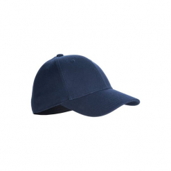 Czapka z daszkiem baseball BA 550. Niebieskie czapki i kapelusze damskie KIPSTA. Za 29.99 zł.