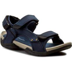 Sandały GINO ROSSI - MN2443-TWO-BN00-5700-T  59. Niebieskie sandały męskie Gino Rossi, z materiału. W wyprzedaży za 159.00 zł.
