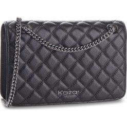 Torebka KAZAR - Sybilla 33387-01-00 Black. Czarne torebki do ręki damskie Kazar, ze skóry. Za 649.00 zł.