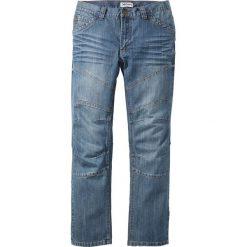 """Dżinsy Regular Fit Straight bonprix niebieski """"used"""". Jeansy męskie marki bonprix. Za 109.99 zł."""