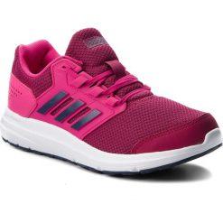 Buty adidas - Galaxy 4 B44725 Reamag/Trablu/Mysrub. Czerwone obuwie sportowe damskie Adidas, z materiału. W wyprzedaży za 189.00 zł.