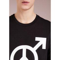 Love Moschino Tshirt z nadrukiem black. T-shirty męskie Love Moschino, z nadrukiem, z bawełny. Za 359.00 zł.