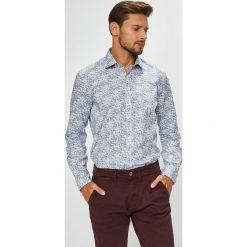 Pierre Cardin - Koszula. Szare koszule męskie Pierre Cardin, z bawełny, z klasycznym kołnierzykiem, z długim rękawem. W wyprzedaży za 229.90 zł.