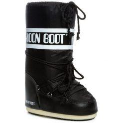 Śniegowce MOON BOOT - Nylon 14004400 001 Nero. Czarne kozaki damskie Moon Boot, z materiału. Za 359.00 zł.