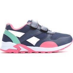 Granatowo-Różowe Buty Sportowe Connect. Buty sportowe dziewczęce marki bonprix. Za 49.99 zł.