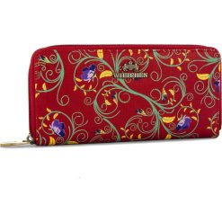 Duży Portfel Damski WITTCHEN - 14-1S-393-3X Czerwony. Czerwone portfele damskie Wittchen, ze skóry. W wyprzedaży za 169.00 zł.