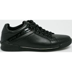 Guess Jeans - Buty. Czarne buty sportowe męskie Guess Jeans, z jeansu. Za 629.90 zł.