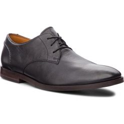 Półbuty CLARKS - Glide Lace 261354317  Black Leather. Eleganckie półbuty marki Giacomo Conti. W wyprzedaży za 279.00 zł.