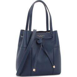 Torebka TORY BURCH - Block-T Small Bucket Bag 50224 Royal Navy 403. Niebieskie torebki do ręki damskie Tory Burch, ze skóry. Za 1,639.00 zł.