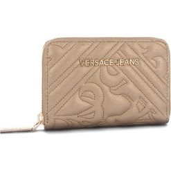 Duży Portfel Damski VERSACE JEANS - E3VSBPZ2 70792 901. Brązowe portfele damskie Versace Jeans, z jeansu. Za 349.00 zł.