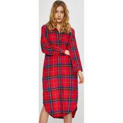 Lauren Ralph Lauren - Koszula nocna. Czerwone koszule nocne damskie Lauren Ralph Lauren, z bawełny. Za 399.90 zł.