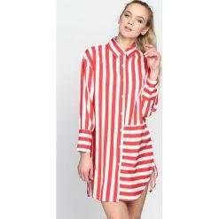 Czerwona Koszula Run To You Sweatheart. Czerwone koszule damskie Born2be, na lato. Za 44.99 zł.
