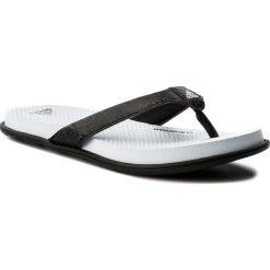 Japonki adidas - Cloudfoam One Y W CG2806 Cblack/Cblack/Aerblu. Czarne klapki damskie Adidas, z materiału. W wyprzedaży za 119.00 zł.
