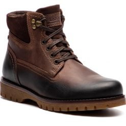 Trapery LASOCKI FOR MEN - MB-STAN-09 Chocolate Brown. Brązowe śniegowce i trapery męskie Lasocki For Men, z nubiku. Za 229.99 zł.