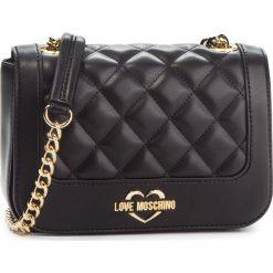 Torebka LOVE MOSCHINO - JC4208PP06KA000A Oro. Czarne torebki do ręki damskie Love Moschino, ze skóry ekologicznej. Za 719.00 zł.