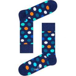 Happy Socks - Skarpety Big Dot. Niebieskie skarpety męskie Happy Socks, z bawełny. W wyprzedaży za 29.90 zł.