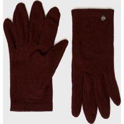 Medicine - Rękawiczki Hand Made. Brązowe rękawiczki damskie MEDICINE. W wyprzedaży za 24.90 zł.
