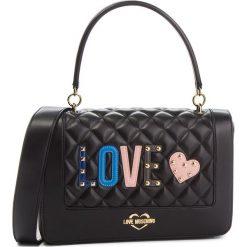 Torebka LOVE MOSCHINO - JC4225PP06KC0000  Nero. Czarne torebki do ręki damskie Love Moschino, ze skóry ekologicznej. Za 919.00 zł.