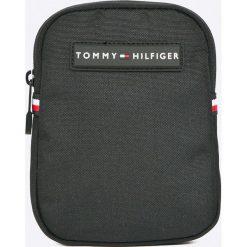 Tommy Hilfiger - Saszetka. Czarne saszetki męskie Tommy Hilfiger, z materiału, casualowe. Za 229.90 zł.