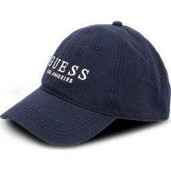 Czapka z daszkiem GUESS - Not Coordinated - City Slicker Hats AM6640 COT01 BLU. Niebieskie czapki i kapelusze męskie Guess. W wyprzedaży za 119.00 zł.