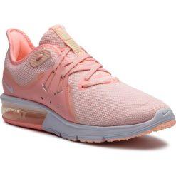 Buty NIKE - Air Max Sequent 3 908993 603 Pink Tint/White/Crimson Tint. Czerwone obuwie sportowe damskie Nike, z materiału. W wyprzedaży za 329.00 zł.