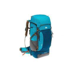 Plecak trekkingowy TRAVEL 500 50l damski. Niebieskie plecaki damskie FORCLAZ, z materiału. Za 349.99 zł.