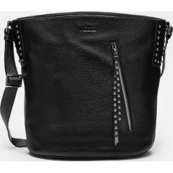 Czarna torebka damska. Czarne torby na ramię damskie Kazar. Za 849.00 zł.
