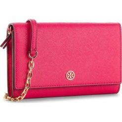 Torebka TORY BURCH - Robinson Chain Wallet 52708 Bright Azalea 663. Czerwone torebki do ręki damskie Tory Burch, ze skóry. Za 1,249.00 zł.