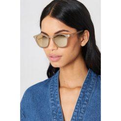 Le Specs Okulary przeciwsłoneczne Bandwagon - Grey. Szare okulary przeciwsłoneczne damskie Le Specs. W wyprzedaży za 170.07 zł.