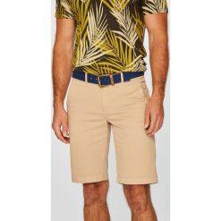 U.S. Polo - Szorty. Brązowe szorty męskie U.S. Polo, w paski, z bawełny, casualowe. W wyprzedaży za 279.90 zł.