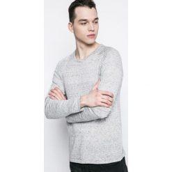 Premium by Jack&Jones - Longsleeve. Szare bluzki z długim rękawem męskie Premium by Jack&Jones, z bawełny, z okrągłym kołnierzem. W wyprzedaży za 69.90 zł.