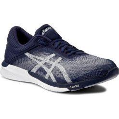 Buty ASICS - FuzeX Rush T718N Indigo Blue/Silver/White 4993. Niebieskie buty sportowe męskie Asics, z materiału. W wyprzedaży za 329.00 zł.
