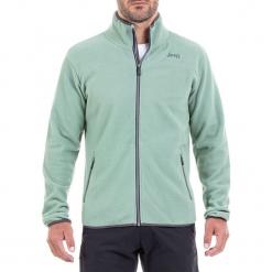 Bluza polarowa w kolorze zielonym. Zielone bluzy męskie Jeep, z polaru. W wyprzedaży za 119.95 zł.
