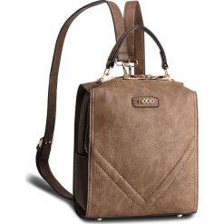 Plecak NOBO - NBAG-FF0340-C017 Brązowy. Brązowe plecaki damskie Nobo, ze skóry ekologicznej. W wyprzedaży za 159.00 zł.