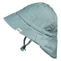 Kapelusz przeciwsłoneczny Pretty Petrol, 0-6 m-cy zielony. Zielone czapki dla dzieci Elodie Details. Za 98.44 zł.