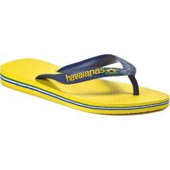Japonki HAVAIANAS - Brasil Logo 41108502197 Citrus Yellow. Klapki damskie marki Birkenstock. Za 99.00 zł.