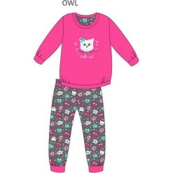 Piżama Kids Girl 975/94 Owl różowa r. 164. Czerwone bielizna dla dziewczynek Cornette. Za 64.26 zł.