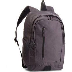 Plecak NIKE - BA5532 020. Szare plecaki damskie Nike, z materiału, sportowe. Za 119.00 zł.