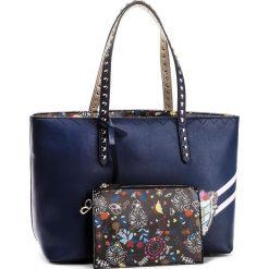 Torebka TRUSSARDI JEANS - Cumino 75B00409 U290. Niebieskie torebki do ręki damskie TRUSSARDI JEANS, z jeansu. W wyprzedaży za 419.00 zł.
