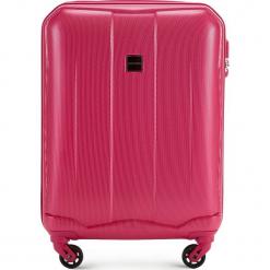 Walizka kabinowa 56-3A-371-60. Niebieskie walizki damskie Wittchen, z gumy. Za 159.00 zł.