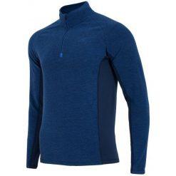 4F Męska Bluza Termoaktywna H4Z17 bimp002 Granatowy Melanż L. Niebieskie bluzy męskie 4f, na zimę, melanż, z polaru. W wyprzedaży za 63.00 zł.