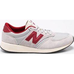 New Balance - Buty. Szare buty sportowe męskie New Balance, z materiału. W wyprzedaży za 199.90 zł.
