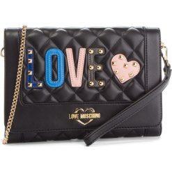 Torebka LOVE MOSCHINO - JC4226PP06KC0000 Nero. Czarne torebki do ręki damskie Love Moschino, ze skóry ekologicznej. Za 719.00 zł.