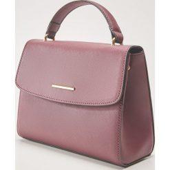 Torebka typu kuferek - Bordowy. Czerwone torebki do ręki damskie House. Za 59.99 zł.