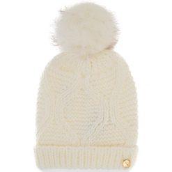 Czapka GUESS - AW6801 WOL01 M OFF. Białe czapki i kapelusze damskie Guess, z materiału. Za 169.00 zł.