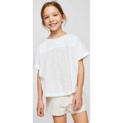 Mango Kids - Szorty dziecięce Intro 110-152 cm. Spodenki dla dziewczynek marki bonprix. W wyprzedaży za 49.90 zł.