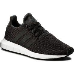 Buty adidas - Swift Run CQ2114 Carbon/Cblack/Mgreyh. Czarne buty sportowe męskie Adidas, z materiału. W wyprzedaży za 259.00 zł.